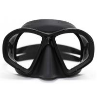 Buy cheap Silicone Tempered Glass and Adjustable Buckles Diving Snorkel Mask Set for from wholesalers