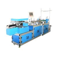 China High Speed Automatic Plastic PE / Non woven Bouffant Cap Making Machine wholesale