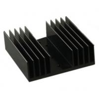 China Black Anodized Aluminum Heat sink Extrusion Profiles , Aluminum Radiator wholesale