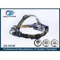 China 200m High Power LED Head Lamp Sensor switch With AC / DC 4.2V wholesale