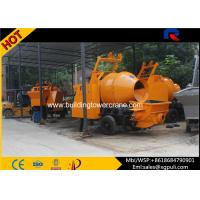 China Concrete Mixer Trucks Building Machine , Electric Concrete Mixer And Pump 9MPa wholesale