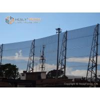 Buy cheap 400g/SQ.M Polyester Screen Wind Fence For Coal Storage, Hesly Windbreak Fence from wholesalers