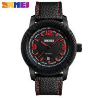 Buy cheap Skmei Joler Fashion Large Dial Genuine Leather Strap Waterproof Quartz Men Wrist Watches 9138 from wholesalers
