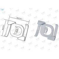 China Steel Material Cable Display Components , T Bar Attachment Clip For Suspending Signs on sale