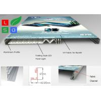 China Ultra Thin Fabric LED Light Box , Folding LED Panel Light Box Frame For Store Interior Display wholesale