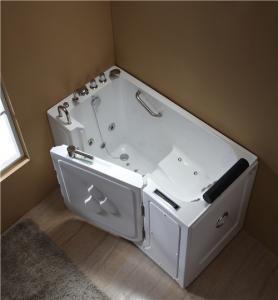 China Leak Proof Handicap Walk In Tub , Walk In Whirlpool Tub 1480*765*980mm Size on sale