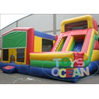 Quality Large Juniors Inflatable Module Bouncer Obstacle Course Combo For Kids / Adults for sale