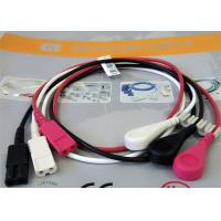 China Patient Cable LL Style ECG Leadwires 3 Leads Snap AHA ECG Monitor Cable wholesale