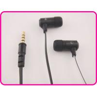 China Green, Black, Pink Colorful Flat Cable Metal Earphones With Mic For Mobile Phone, Mp3 Players on sale