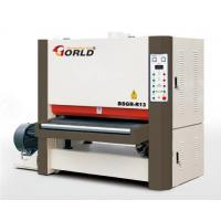 China 4*8 ft Plywood MDF Particle Board Two Heads Calibration and Polishing Wide Belt Sander BSGR-R13 wholesale