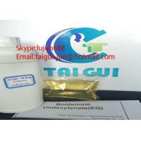 China High Pure Boldenone Undecylenate EQ Ganabol Muscle Gaining Steroids  Liquid Equipoise wholesale
