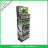 Buy cheap 4 tiers innovative pop displays merchandising retail floor corrugated displays from wholesalers