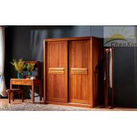 China Household Custom Bedroom Wardrobes , Modern Two Sliding Door Wardrobes wholesale
