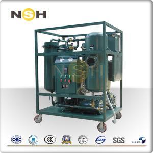 China 50Hz Turbine Oil Filtration Machine Demulsification Dehydration Custom Color wholesale