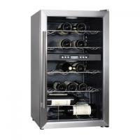 China 59 Bottles 117L Wine Cooler-Electronic Single Zone wholesale