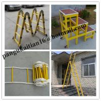 China Two-section fiberglass ladders,Fiberglass insulating splice ladder wholesale