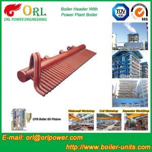 China High Pressure CFB Boiler Header Steam Boiler Header with ASME wholesale