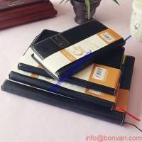 China promotional PU leather cover journal diaries Notebooks with loose leaf wholesale