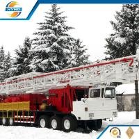 Wholesale Professional Onshore Oil Well Workover Oil Rig Truck Mounted Without Guyline from china suppliers