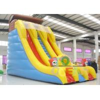 China Gaint PVC Inflatable Slide With Double Climbing N Pirate Guard For Commercial Used wholesale