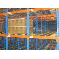 China Warehouse Shelve Storage Racking Customized Gravity Roller Pallet Flow Rack wholesale