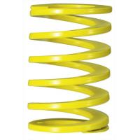 Wholesale Yellow Rectangle Coil Injection Mould Spring , Industrial Overload Coil Springs from china suppliers
