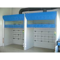 Quality Steel Laboratory Fume Cupboard 19mm Thick Epoxy Resin Board Temperature for sale