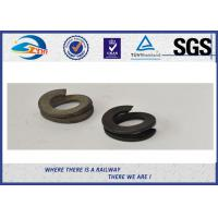 China Galvanize Spring Washer 38Si7 Black Oxide / Lock Flat Washers in Different Size on sale