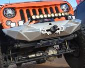China Jeep Wrangler JK Aggressive Front Bumper wholesale