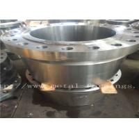"China Carbon Steel Flange  Forgings Q + T Heat Treatment PN250 Class1500 WN RTJDN100  NPS4"" DN150 NPS6"" DN300 wholesale"