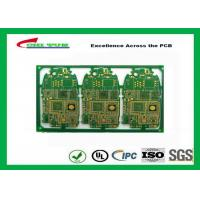 China HDI 6L FR4 1mm Immersion Gold PCB Engineering for Cell Phone / Mobile Phone wholesale