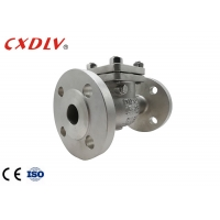 China Full Flow Metal Seated Flap PN16 Flanged Check Valve wholesale