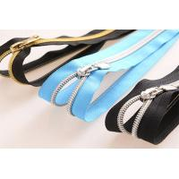 China #5 Nylon Zipper Gold Teeth For High Quality Bag And Jacket Garment Accessories wholesale