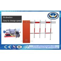 Buy cheap 2 Fence Vehicle Security Barriers Access Control / Roadway Traffic Gate 80w from wholesalers