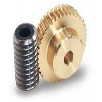 China One Thread Steel Screw Shafts Spiral Bevel Gear Brass Worm Gears For Motors wholesale