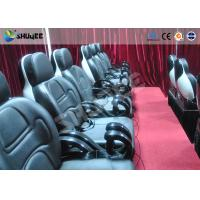 China Small 5D movie theater Realistic action effects cinema with motion chair wholesale