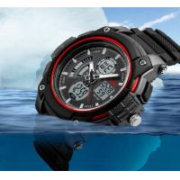 Quality Men Fearless Pioneer Douchty Tough Is An ATTTUDE Dual Time Out Multifunction 5 ATM Sport Watch OEM 1192 for sale