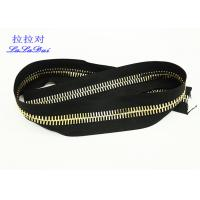 China Continuous Long Chain Zipper By Yard 10# 12# Big Euro Teeth For Bags And Garments wholesale