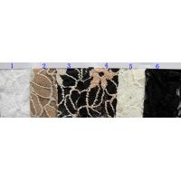 Quality Flower Elastic Lace Fabric for sale