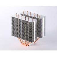 China High efficient Computer CPU Heatsink / Copper Pipe Heat Sink with Skiving Fin wholesale