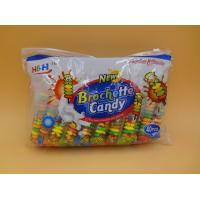 China Fruit Flavors Brochette Candies, Available in Various Candy Shapes wholesale