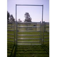 China 18 Round Corral Panels HEAVY Duty Outdoor Animal Enclosure with Gate wholesale