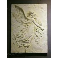 China Western Art Wall Relief Sculpture / Clay Relief Sculpture Wall Ornaments wholesale
