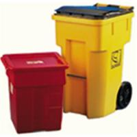 Rotomold for waste bin, plastic outdoor garbage