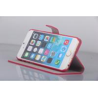 China  Flip Cell Phone Portective Case For Apple iPhone 6 Genuine Layer Slim  Leather Case  for sale