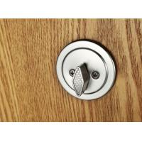 Quality Interior Modern Entry Door Handlesets Satin Nickel American Standard Cylinder for sale