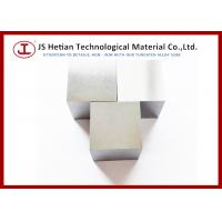 Wholesale 18.10 g / cm3 Tungsten Alloy Cube 38 mm with Surface roughness RA 0.8 - 1.0 from china suppliers