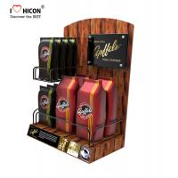 China Lure Clients Counter Display Racks Coffee Bag Promotional Retail Food Display Countertop wholesale