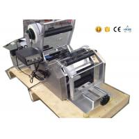 Excellent economy round bottle semi automatic sticker labeling machine for small scale production