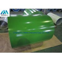 China Zinc Aluminium Color Coated Steel Coil JIS G3302 JIS G3312 ASTM A653M A924M 1998 wholesale